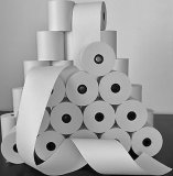 papel del registro de 80*80*13m m para el papel termal Rolls de POS/ATM