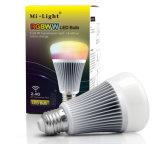 8W RGB+CCT LED 전구 램프를 바꾸는 마술 지능적인 색깔