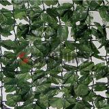 Rete fissa artificiale di segretezza del giardino della barriera della rete fissa del foglio