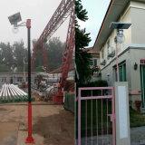 6W-12W 600-720lm solar del jardín Luminaria con la batería de litio