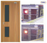 Porta antincendio di legno certificata Trada del Bm con l'alta qualità