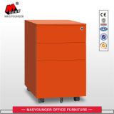 Manufatura do gabinete móvel do metal do uso do escritório com a gaveta 3