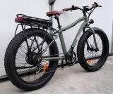 Legierungs-Rahmen-fetter Gummireifen-elektrisches Fahrrad