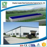 Trabajo de acero en almacenaje del almacén de la barra de acero de la construcción de edificios