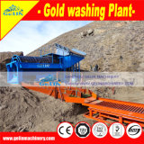Máquina de lavar do móbil da arruela do minério do ouro