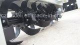 Rodillo giratorio pesado galvanizado de diseño especial
