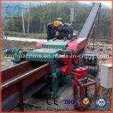 Máquina lascando-se de madeira do cilindro hidráulico
