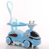 Кремний новой модели катит автомобиль малышей электрический с штангой нажима