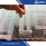 glace Tempered de verre trempé clair de flotteur de 3/3.2/4/5/6/8/10/12mm avec le bord rond