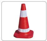 Duurzame 500mm Traffic Rubber Cone (DH-LZ-1)