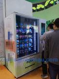 Máquina expendedora en pantalla grande con la banda transportadora y el elevador D900V-11L (22SP)