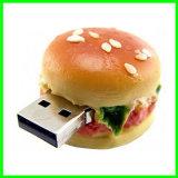OEM USBのメモリ棒のハンバーガーUSB Pendrive