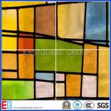 Vitrail (verre décoratif) avec certificat CE (EGST009)