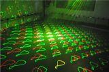Luz de efectos múltiples del efecto del laser LED de RGY