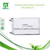 GPS를 위한 3.7V 606066 2600mAh 리튬 중합체 건전지