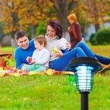 El jardín solar del asesino del parásito enciende al aire libre