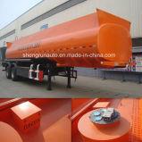 aanhangwagen 3 van de Tank van 32cbm Chemische de Tanker van de Brandstof van de As