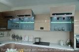 Cabina de cocina modificada para requisitos particulares muebles dignos de confianza de la laca de Aisen