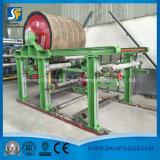 Papel Waste automático que recicl a linha de produção da máquina