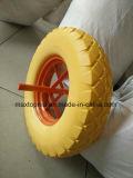 400-8 큰 정연한 패턴을%s 가진 편평한 자유로운 PU 거품 바퀴
