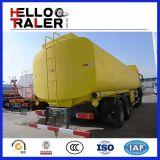 Sinotruk 25m3の重油のタンク車6X4 HOWO