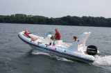 Liya 8-27feet Cina Inflatable Boat Manufacturer Rib Boat da vendere