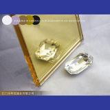 Espejo de oro del color del espejo espejo de cristal reflexivo de oro de 1.5m m - de 10m m