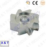 CNC passen Edelstahl-/Messing-/zentrale Aluminiummaschinerie-hölzerne Drehbank-Teile an