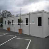 Допустимый полуфабрикат модульная стальная дом снабжения жилищем контейнера