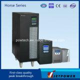Pferden-Serie 1kVA UPS-zutreffende Sinus-Wellen-Niederfrequenzeinphasig-Zeile interaktive UPS