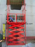 Transport par passager d'ascenseur à ciseaux hydrauliques