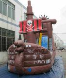 Корабль пирата горячего сбывания раздувной, гигантский раздувной хвастун корабля пирата