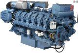 6m26 8m26 12m26力338kw-970kwのためのBaudouinの海洋のディーゼル機関