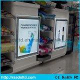 도매 LED 수정같은 호리호리한 가벼운 상자 간판