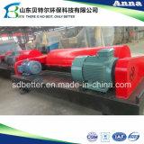 Centrifugador horizontal do filtro do parafuso do aço inoxidável