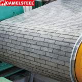 Construction en acier Matrial PPGI de bobine de feuille de toiture