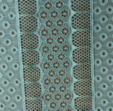 Polyester und Spandex Jacquard Lace Fabric