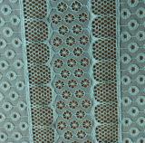 De Stof van het Kant van de polyester en van de Jacquard Spandex
