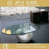 Скачками форменный Tempered таблицы верхнее/Toughened стекло