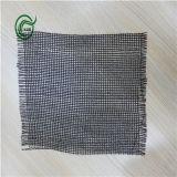 Revestimento protetor secundário tecido Sb3210 dos PP da tela para o tapete (preto)