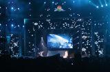 임대 큰 오락 LED 단계 P6 LED 게시판 스크린