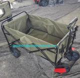 キャンプおよび買物をすることのための実用的な折りたたみ折るワゴン