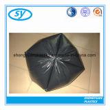 Пластичные новые материальные устранимые черные мешки отброса
