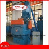Machine de grenaillage de courroie de dégringolade de baril en lots