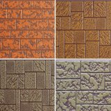 Het metaal In reliëf gemaakte Comité van de Decoratie van de Muur voor Geprefabriceerd huis