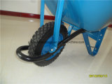Carriola della fabbrica Wb6400 della riga della barra di rotella di Qingdao di prezzi competitivi di alta qualità