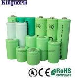 Cのサイズ1.2V 3500mAhの低い自己放電のNiMH電池