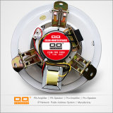 mini haut-parleur public de plafond de système d'adresses de 3W 6W