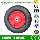 rodas de borracha do projeto novo de 16in para Wheelbarrows