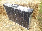 Carvan를 위해 접히는 100W 야영 태양 전지판